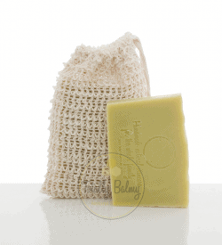 Hemp soap & bag
