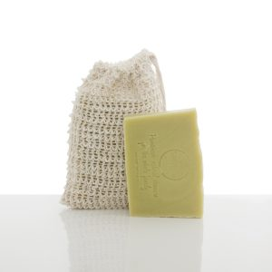 hemp soap and bag