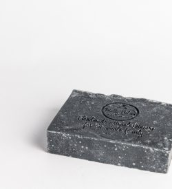 charcoal & pumice exfoliating body soap