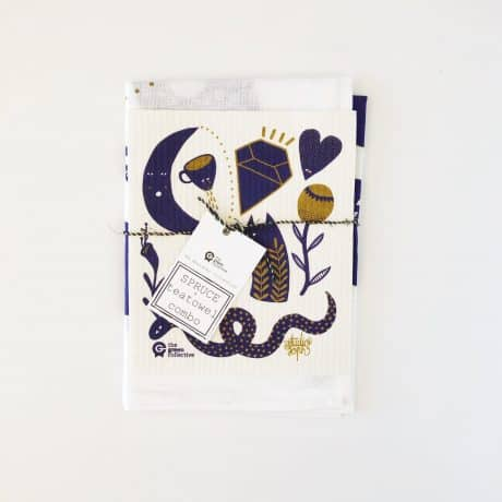 Spruce & Tea Towel Mystic